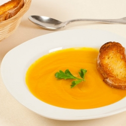 Pumpkin and Sweet Potato Soup