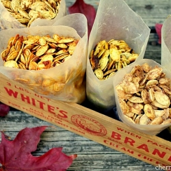 Pumpkin Seeds Five ways!
