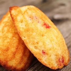 cherry madeleines recipe!