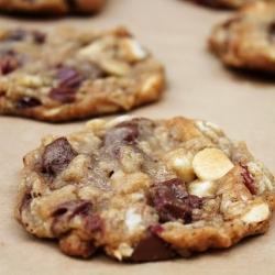 cranberry chocolate oat cookie recipe