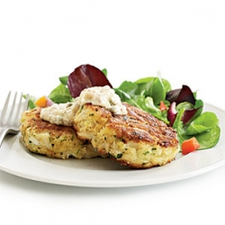 Crab Cakes w/ Spicy Remoulade