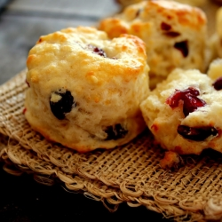 cheese and cranberry scones recipe