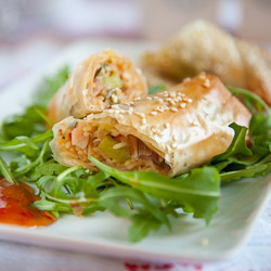 Chicken Springrolls