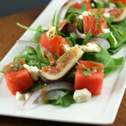 Fig and Watermelon Salad