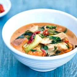 Thai Red Curry with Turkey