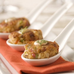 Crab Cakes w/ Spicy Rémoulade