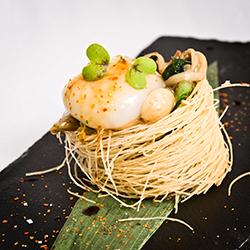 Nest of Stir-fried Mushrooms
