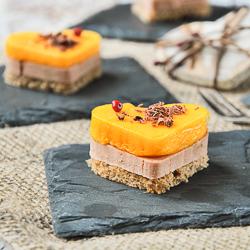Toast with Foie, Mango