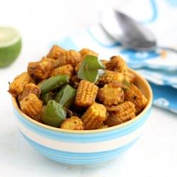 Baby Corn stir fry