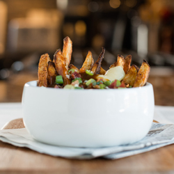 Baked French Fry Poutine