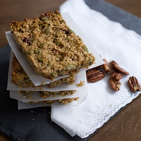 Pumpkin Pie Spice Granola Bars
