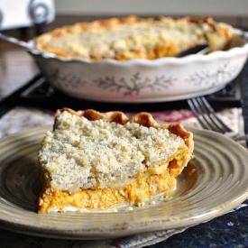 dutch pumpkin apple pie!
