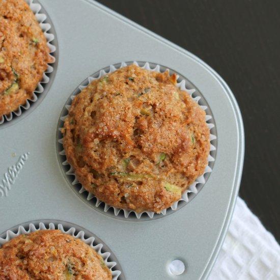 Maple Zucchini Muffins