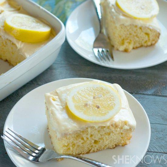 Meyer lemonade cake