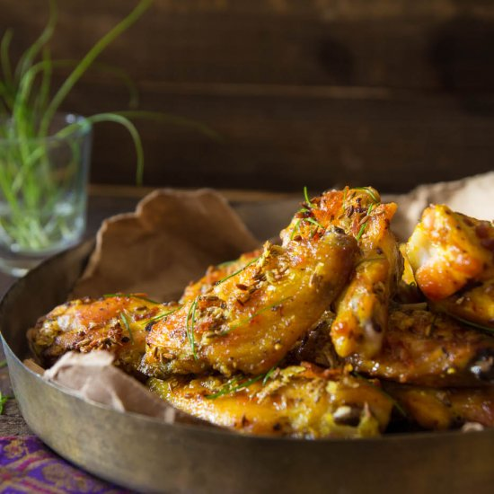 Cumin (Jeera) Chicken Wings
