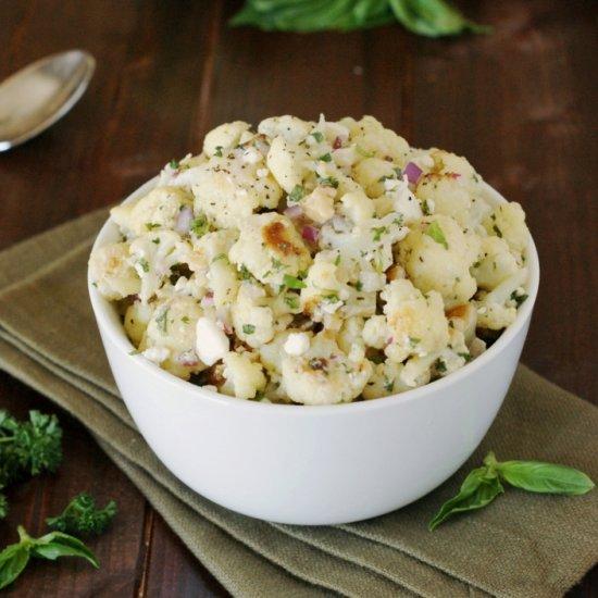 Italian Roasted Cauliflower Salad images