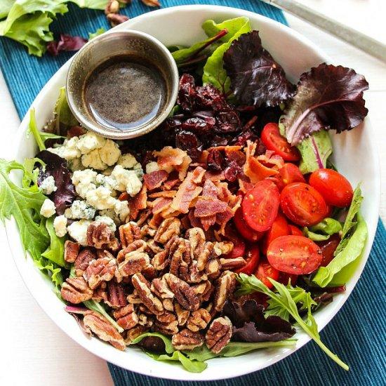 Gorgonzola Salad Apple Bacon Gorgonzola Salad