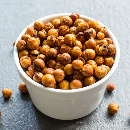These crispy, smoky air-fried chickpeas make a great cheap and healthy ...