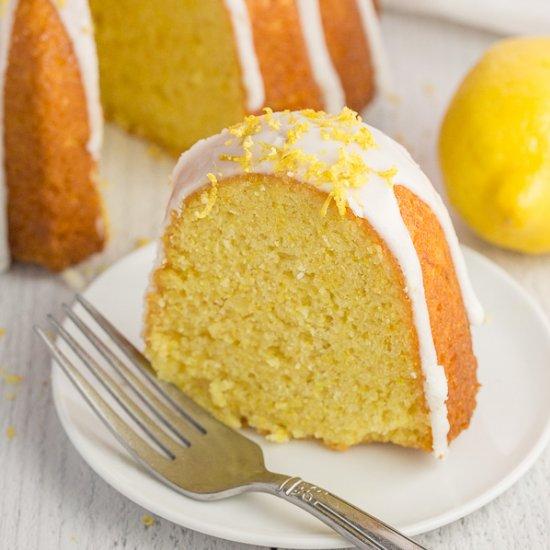 The Best Vegan Lemon Cake
