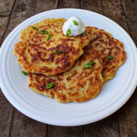 Vegan Boxty (Irish Potato Pancakes)