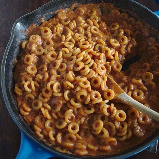 Healthy Vegan Spaghetti-O's