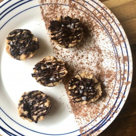 Vegan Caramel Cookie Bites