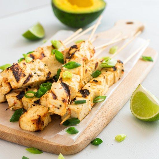Mexican Tofu Skewers Recipe
