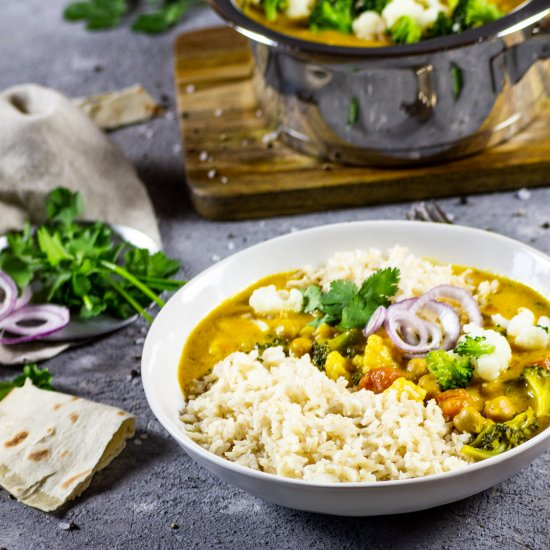 Creamy Veggie Loaded Curry