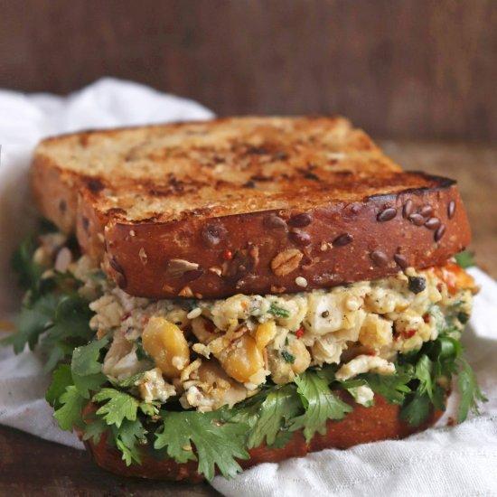 Vegan Chickpea Sandwich
