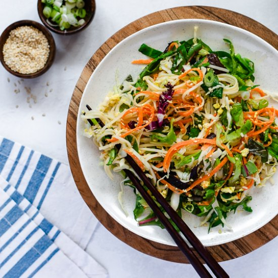 Vegan Somen Noodle Salad