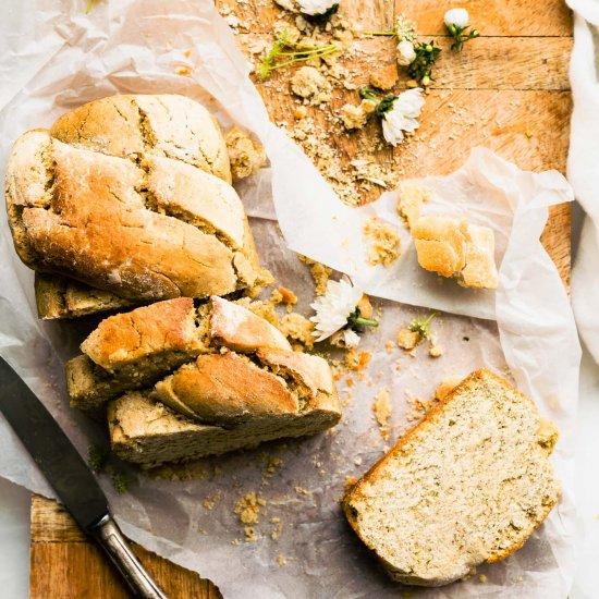 Homemade Vegan Bread (Gluten Free)