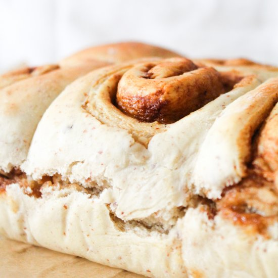 One Bowl Vegan Cinnamon Rolls