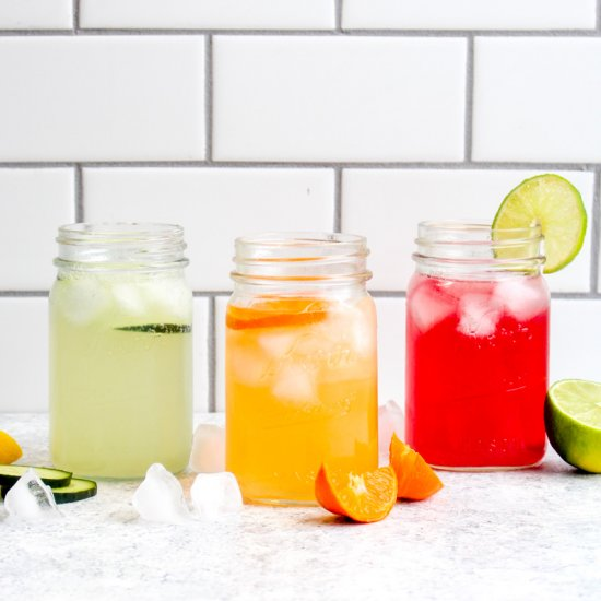 Real Fruit Sparkling Water Recipes