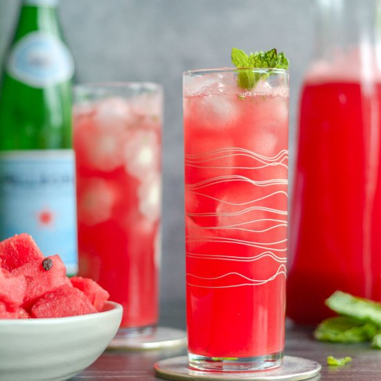 Fresh Watermelon Spritzer