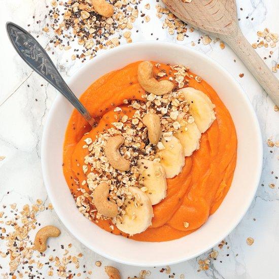 Banana-nutty protein smoothie