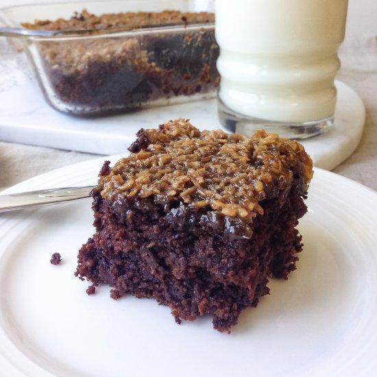 Vegan Chocolate Oatmeal Cake