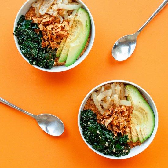 Savory Oatmeal Bowls