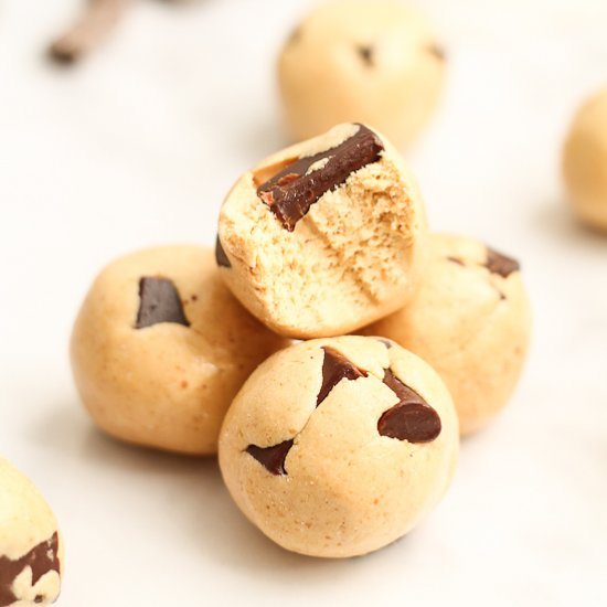 Chocolate Chunk Cookie Dough Protei