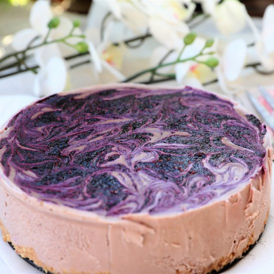 Vegan Berry Cheesecake