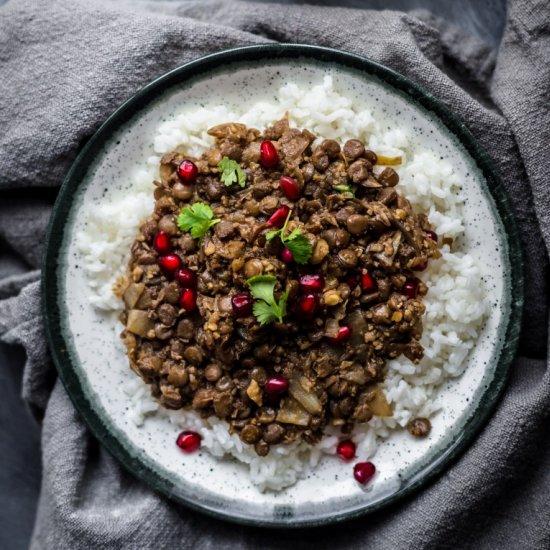 Vegetarian Lentil Fesenjan