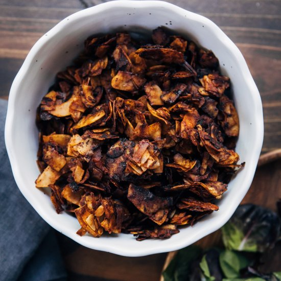 Coconut Bacon Without Liquid Smoke