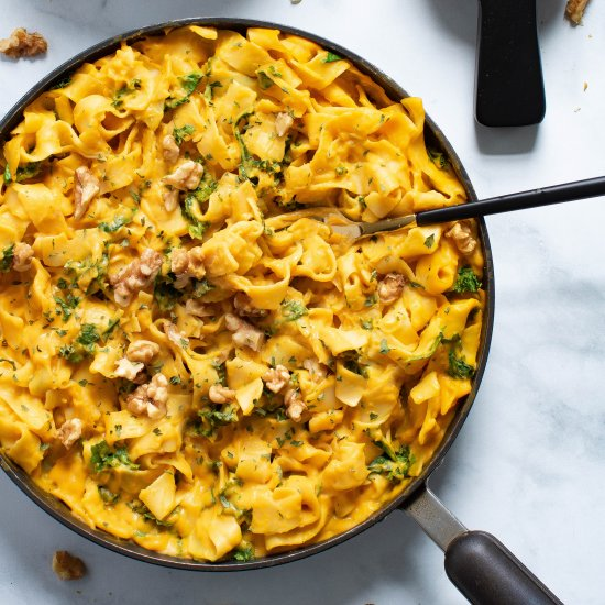 Vegan Sweet Potato Pasta