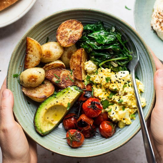Vegan breakfast bowl (GF)