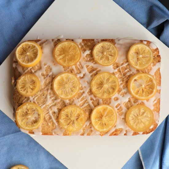 Simple Vegan Lemon Cake