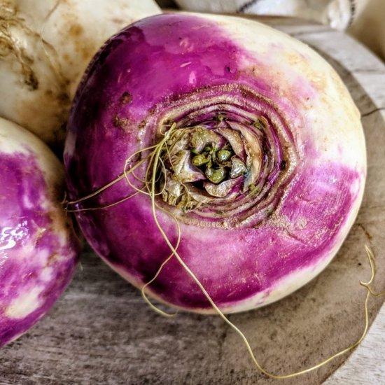 Zesty Turnip Salad