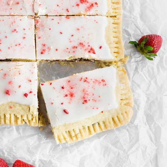 Giant Free Strawberry Pop Tarts