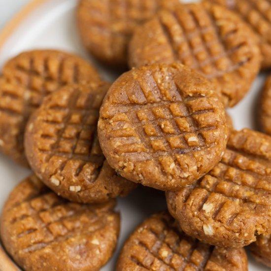 No Bake Peanut Butter Cookies