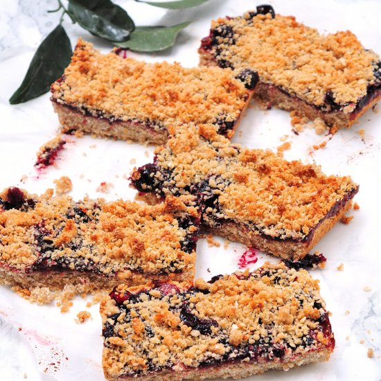 6-ingredients strawberry bars