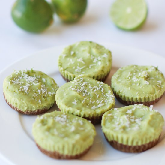 Vegan Key Lime Mini Tarts