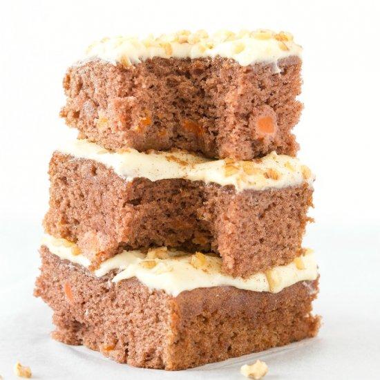 Keto Vegan Carrot Cake